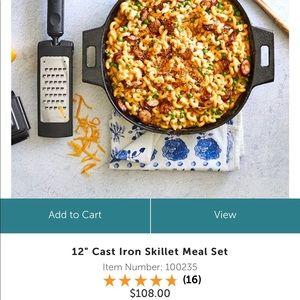 Cast Iron skillet Meal Set  check my website